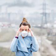 آلودگی هوا و سردرد