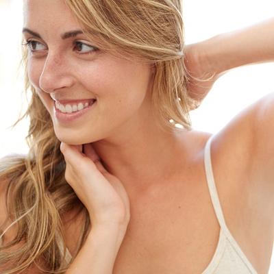 لیزر موهای زائد سینه زنان