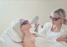 لیزر موهای زائد با دستگاه دایود