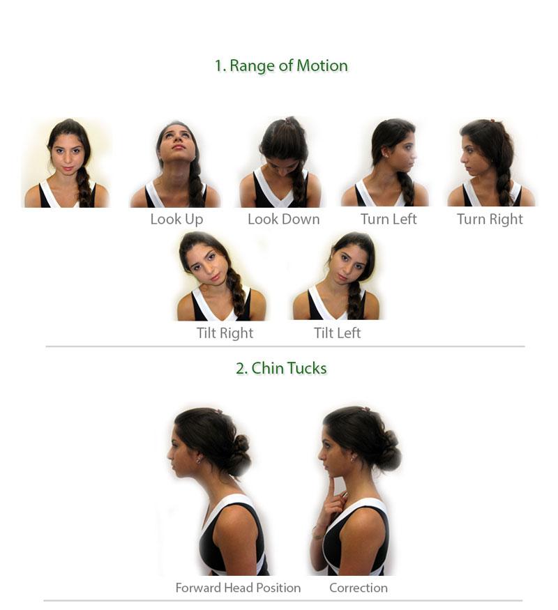 ورزش درمانی درد گردن
