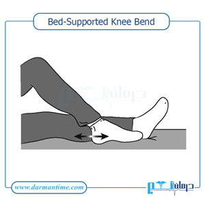 Bed-Supported Knee Bend